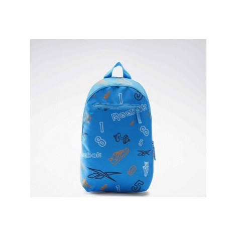 Reebok Classic Allover Print Backpack Small Modrá
