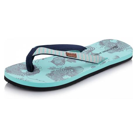 Dámská letní obuv Alpine Pro HANIEL - tyrkysová