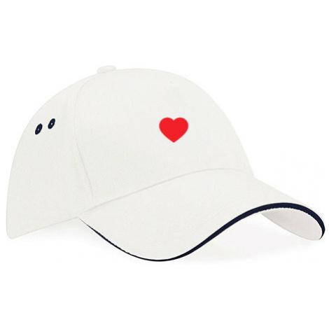 Kšiltovka Classic Color Jednoduché srdce