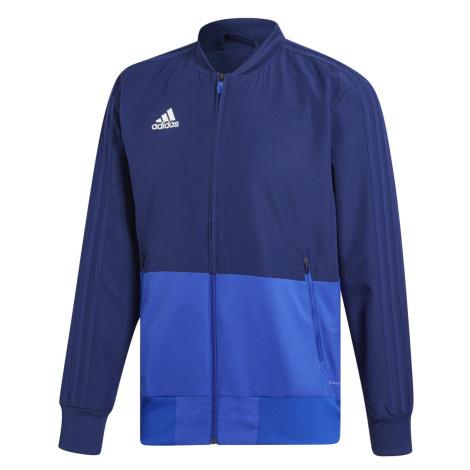 Bunda adidas CON18 PRE JKT Tmavě modrá / Světle modrá
