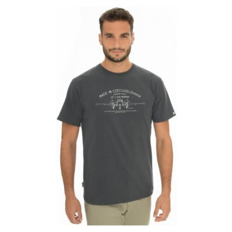 Pánské tričko BUSHMAN BOBSTOCK II tmavě šedá