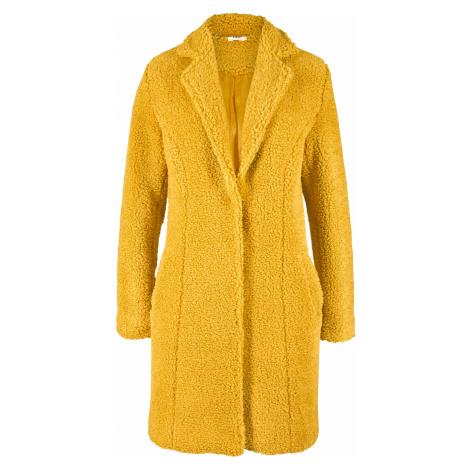 Krátký kabát s medvídkovým flísem Bonprix