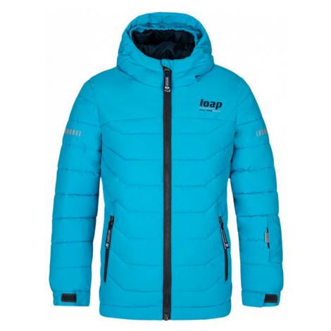 LOAP FUNKO Dětská lyžařská bunda OLK2009M20M Modrá - oceán
