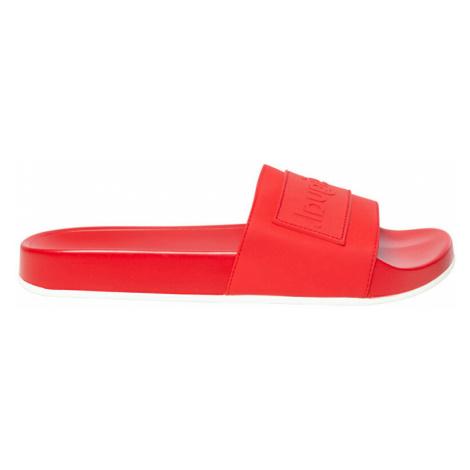 Desigual Dámské pantofle Shoes Slide Rojo Roja 20SSHP04