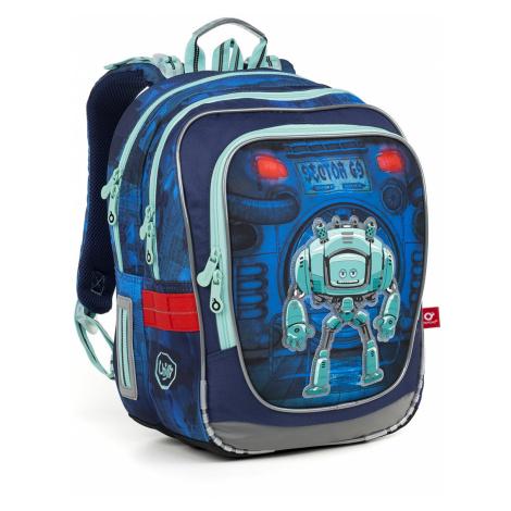 Školní batoh s robotem Topgal ENDY 18047 B