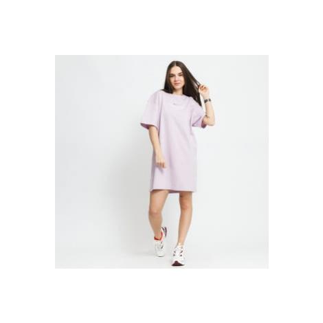 Nike W NSW Swoosh Dress fialové