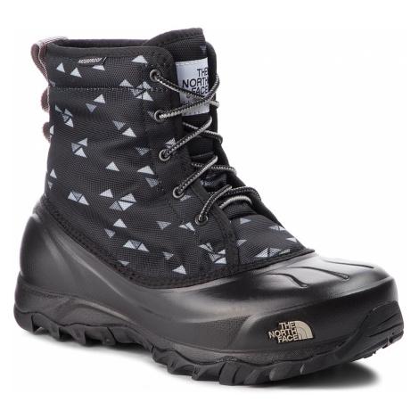 Sněhule THE NORTH FACE - Tsumoru Boot T93MKT5UB Tnf Black Triangle Weave Print/Foil Grey