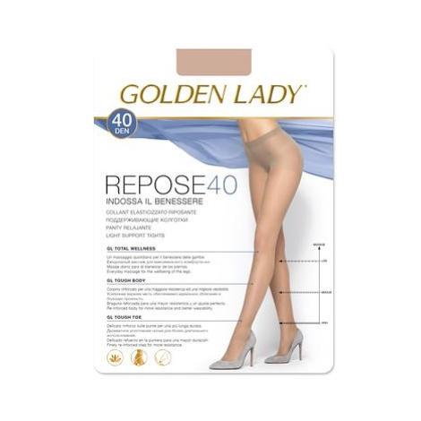 Dámské punčochové kalhoty Golden Lady Repose 2-5XL 40 den odstín béžové