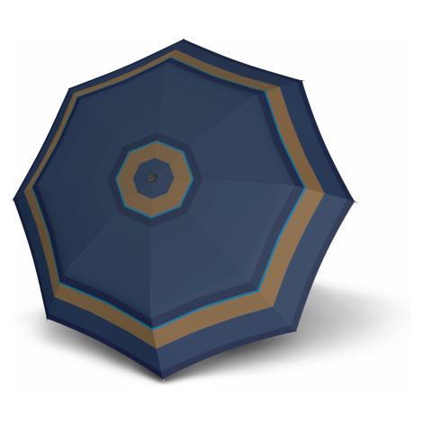 Modrý skládací automatický dámský deštník Luana Doppler