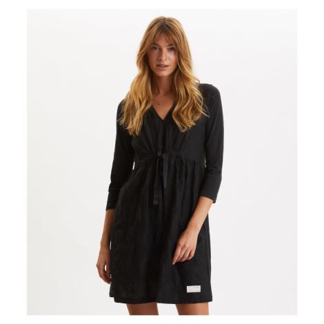 Šaty Odd Molly Leaving Happier Dress - Černá