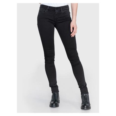 Luz Jeans Replay Černá