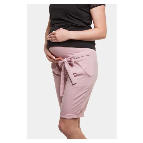 Těhotenské bermudy Lena II růžová
