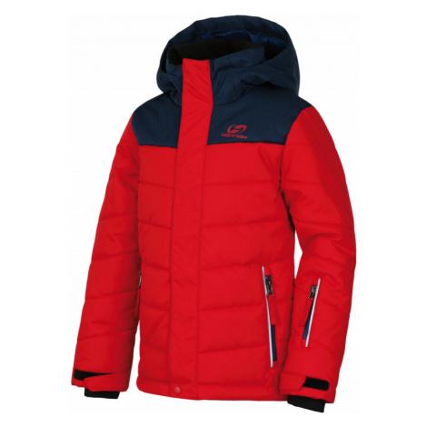 Dětská bunda Hannah Kinam JR racing red/majolica mel