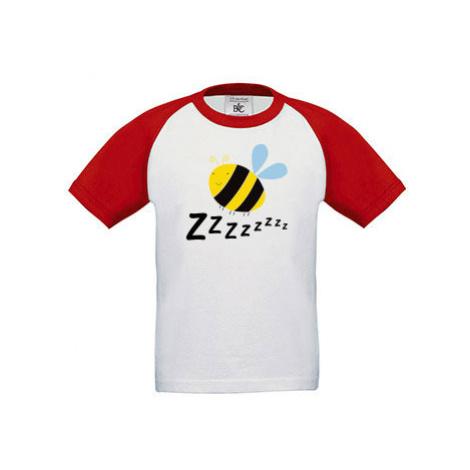 Dětské tričko baseball Včelka
