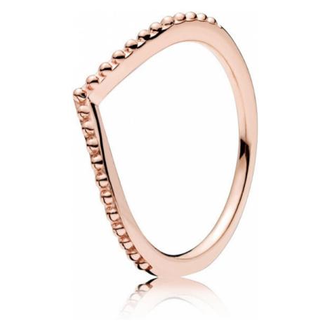 Pandora Elegantní bonzový prsten