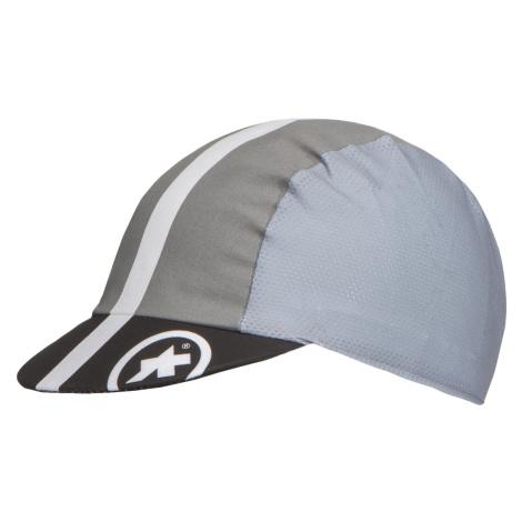 Cyklistická čepice Assos FASTLANE SUMMER CAP šedá