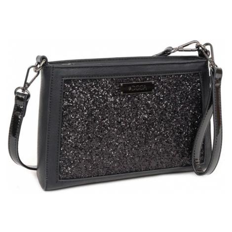 Černá kabelka – Glitter D . . A