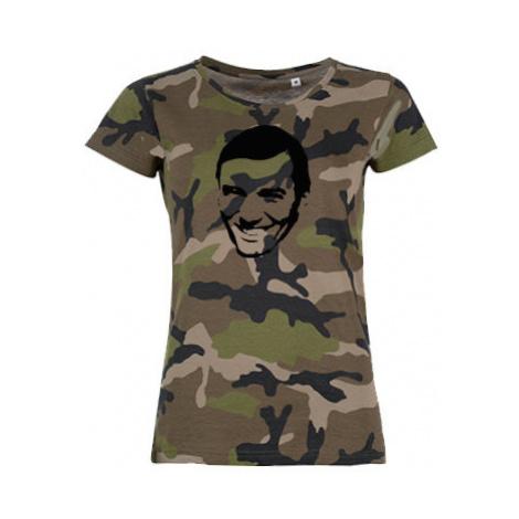Dámské maskáčové tričko Karel Gott