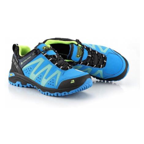 ALPINE PRO Chefornak 2 Modrá / Tyrkysově Modrá Outdoorová obuv s membránou Ptx UBTT242697