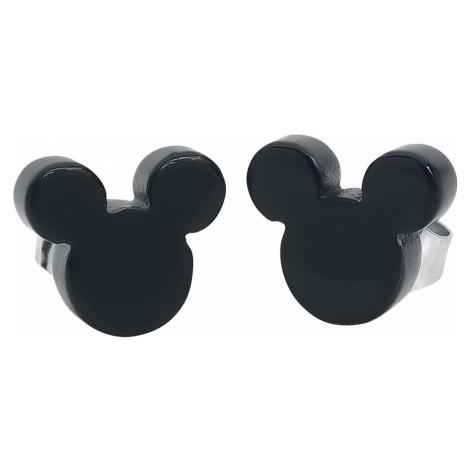 Mickey & Minnie Mouse Disney by Couture Kingdom - Mickey Black sada náušnic bílá/cerná