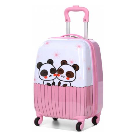 Dětský kufr Snowball Pandy 4W SX