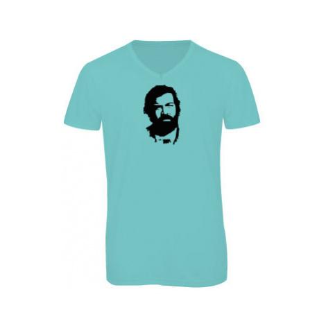 Pánské triko s výstřihem do V Bud Spencer