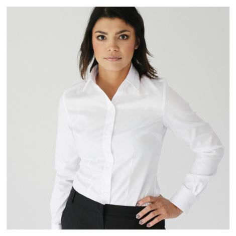 Dámská košile Willsoor 809 v bílé barvě