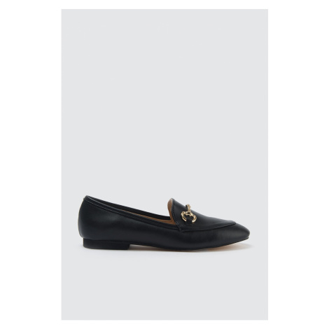 Trendyol Women's Classic Shoes WITH Black Gold Buckle