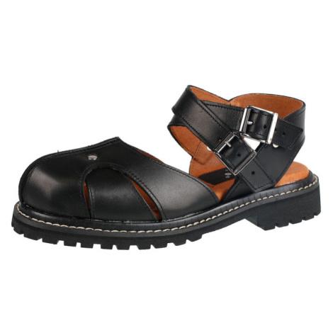 boty dámské (sandály) STEADY´S - STE/ROCK/2_black