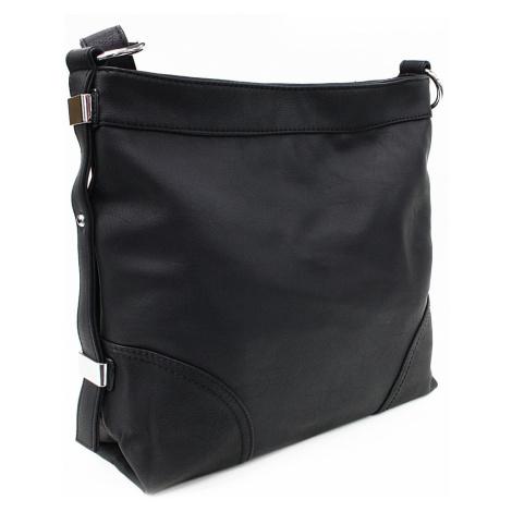 Černá velká dámská kabelka Loreley Mahel