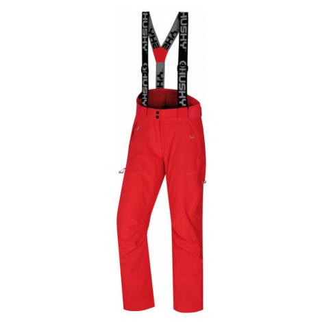 Dámské lyžařské kalhoty HUSKY Mitaly L neonově růžová