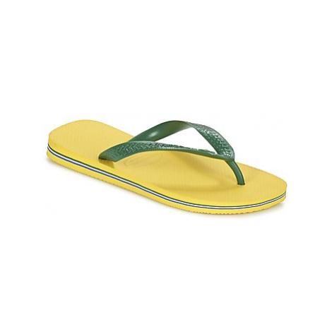 Havaianas BRASIL Žlutá