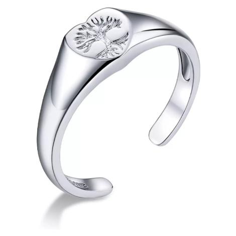 Linda's Jewelry Stříbrný prsten Kruh Života Ag 925/1000 IPR105-UNI