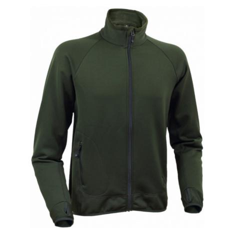 Pánská bunda Warmpeace Trevor Powerstretch alpine green