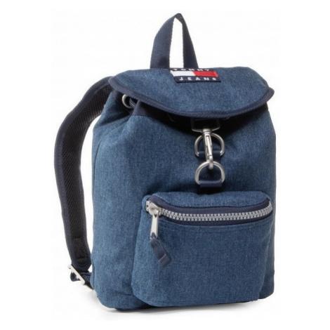 Tommy Hilfiger Tommy Jeans dámský tmavě modrý denim batoh HERITAGE DENIM BACKPACK
