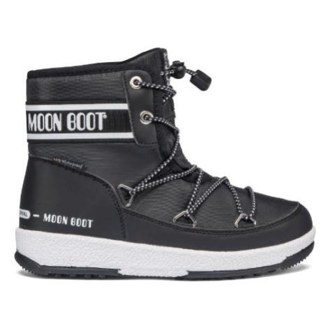 MOON BOOT JR BOY MID WP 2, 001 black, size EU