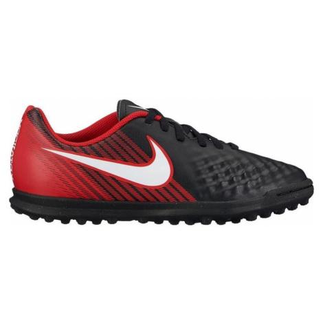 Dětské kopačky Nike MagistaX Ola II TF Černá / Červená