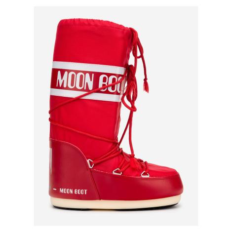 MB Nylon Sněhule Moon Boot Červená