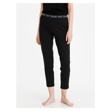 Kalhoty na spaní Calvin Klein Černá