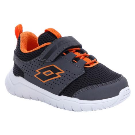 Lotto SPACEULTRA INF SL černá - Dětské volnočasové boty