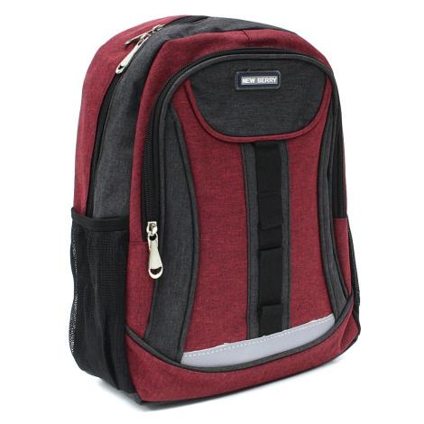 Červený dětský sportovní batoh Beckham New Berry