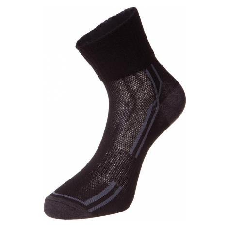 Unisex ponožky Alpine Pro HARE 3 - černá