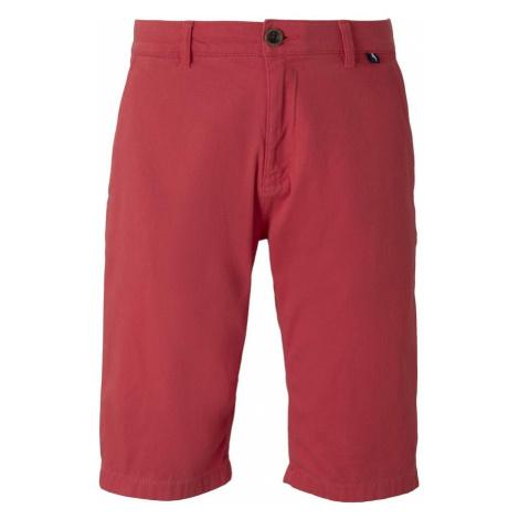 TOM TAILOR Chino kalhoty rezavě červená