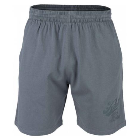 Russell Athletic SCRIPT SHORTS tmavě šedá - Pánské šortky