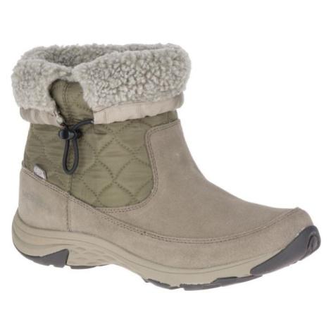 Merrell APPROACH NOVA BLUFF PLR WP béžová - Dámské zimní boty