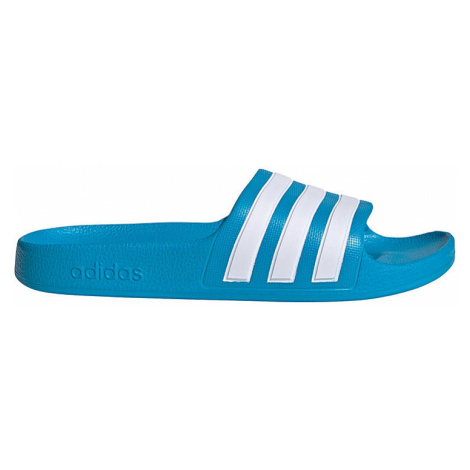 Modré dětské pantofle Adidas
