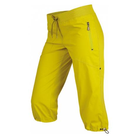 LITEX Kalhoty dámské v 3/4 délce bokové. 99583104 žlutozelená