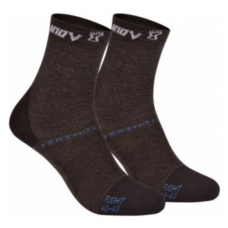 Ponožky Inov-8 Merino Lite sock černá