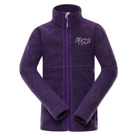ALPINE PRO ENEASO 6 Dětský svetr KPLN011827 Amaranth purple