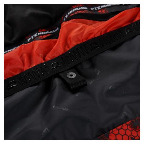 Pánská bunda Alpine Pro GLARNISH 5 - černo-oranžová